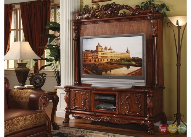 Dresden Antique Style Ornate Tv Stand Amp Hutch In