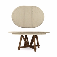 Echo Park Birch Round Dining Table In Antique White