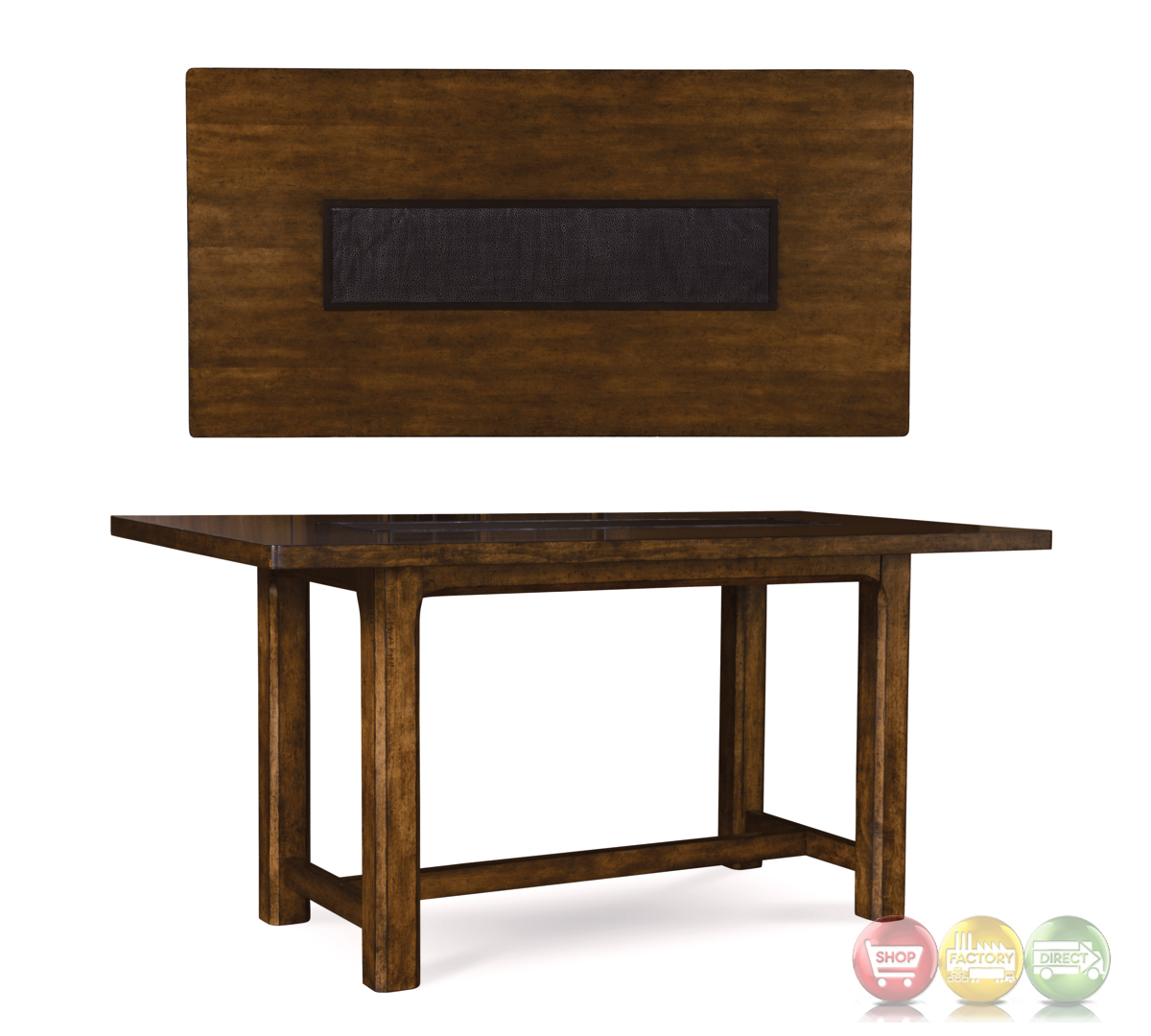 Echo Park Stipple Stained Birch Counter Height Dining Table : echo park stipple stained birch counter height dining table 10 from shopfactorydirect.com size 1200 x 1080 jpeg 335kB