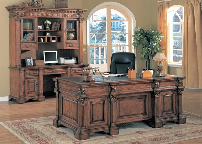 Eisenhower Double Pedestal Executive Desk
