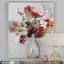 "Elegantly Chic Handpainted Cut Flower Bouquet Art On Stretched Canvas, 40""x50"""