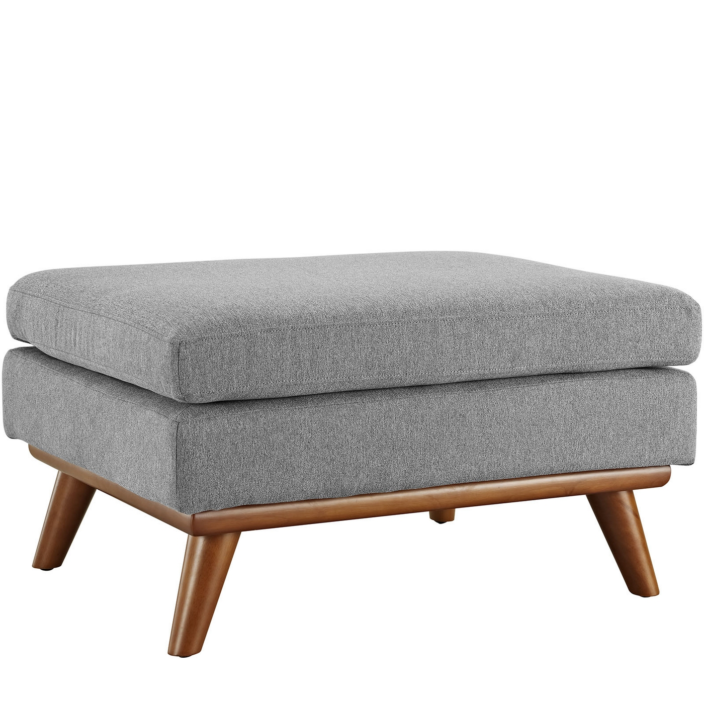 Engage Modern Button-tufted Upholstered Corner Ottoman