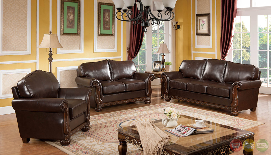 Eve Traditional Medium Wood Formal Living Room Sets With Carved Accents RPCMO92