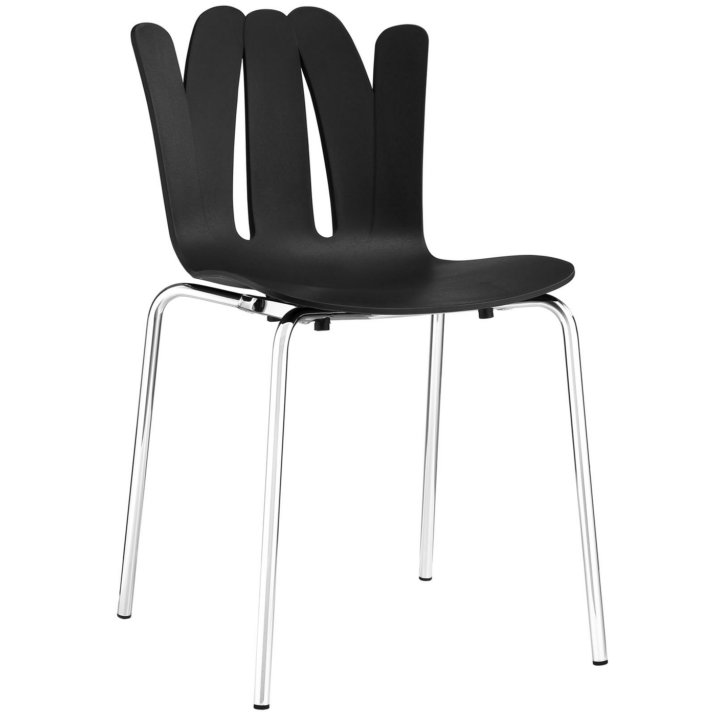 Flare Modern Stackable Stylish Plastic Dining Side Chair