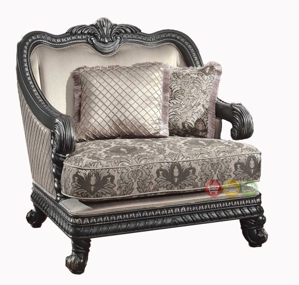 Traditional Living Room Chairs: Florence Traditional Formal Living Room Furniture Arm