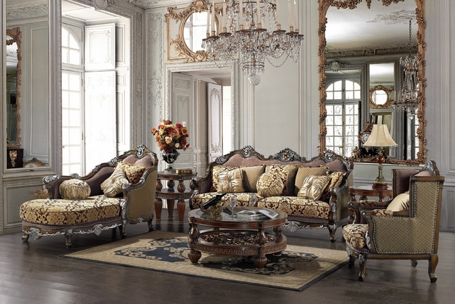Traditional Living Room Set Formal Sofa Set Shop Factory Direct