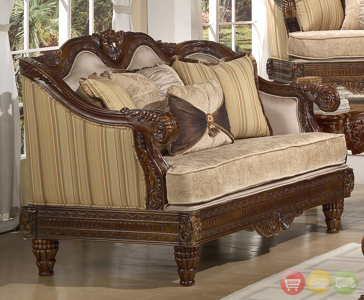 Formal Luxury Set Traditional Living Room Furniture HD-386