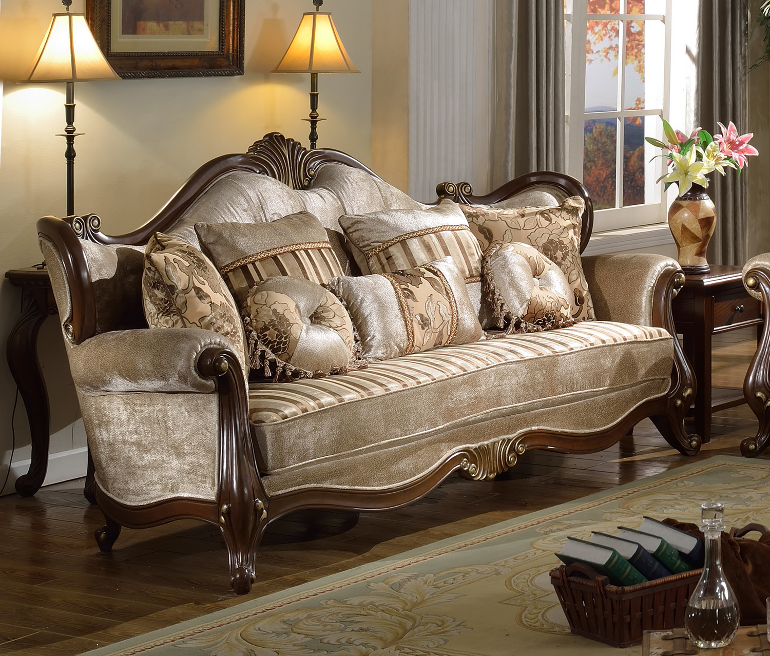 Victorian Style Living Room Furniture With Traditional Formal Living
