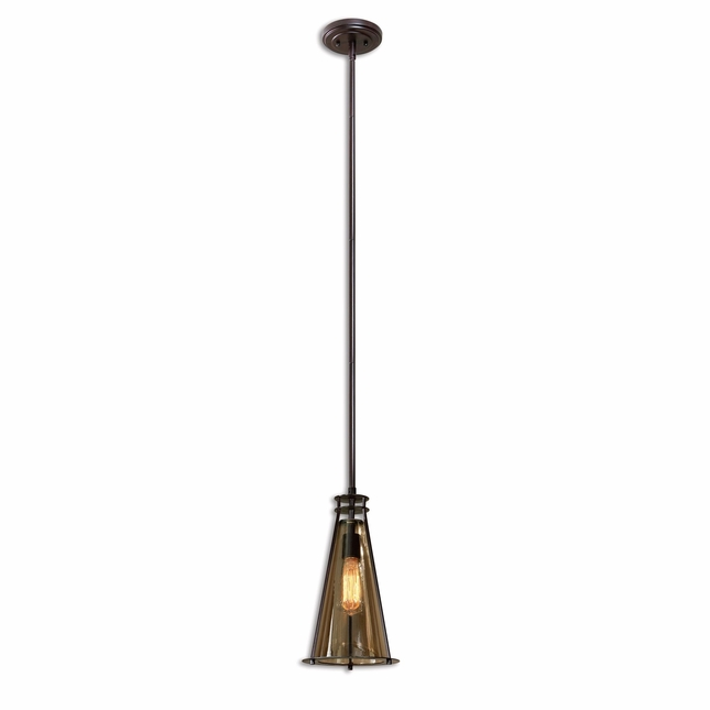 Frisco Traditional 1 Light Mini Pendant 21965