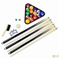 Game Room Accessories - Pool Cues, Racks, Pucks, Strikers