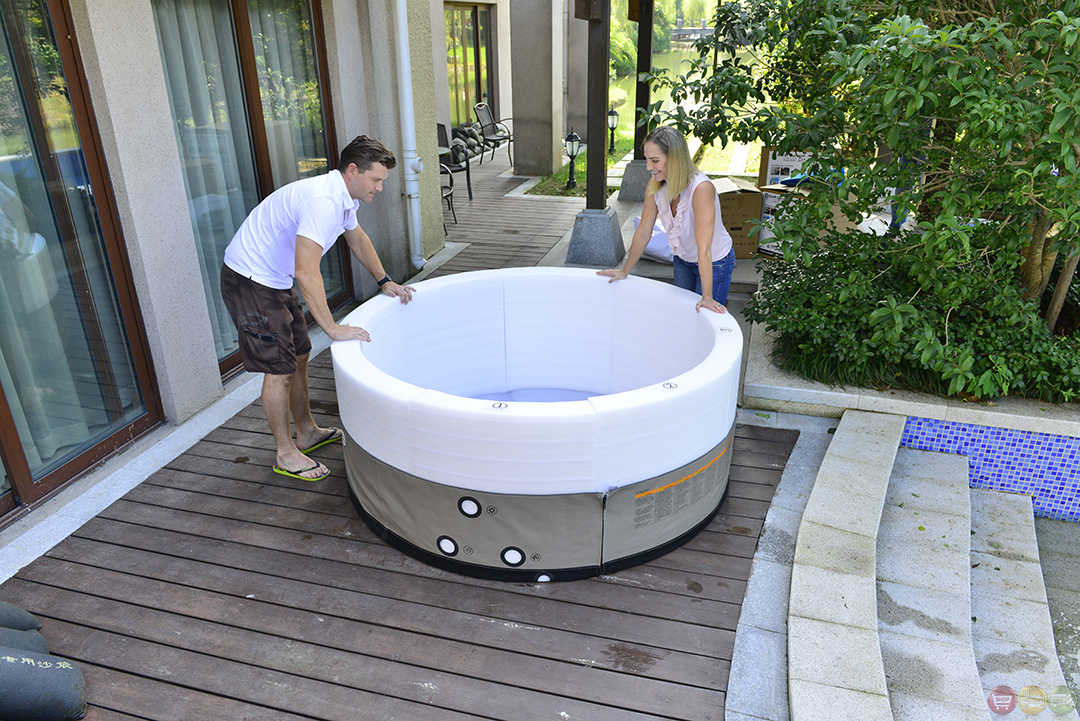Grand Oasis Energy Efficient Portable Hot Tub Spa