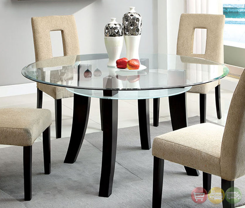 Casual Modern Dining Room: Grandam I Contemporary Espresso Casual Dining Set With