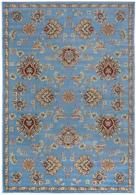 Rizzy Rugs Gray Traditional Power Loomed Area Rug Bayside BS3582