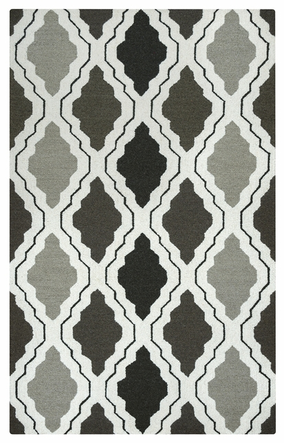 Rizzy Rugs Gray Transitional Hand Tufted Area Rug Country CT2594