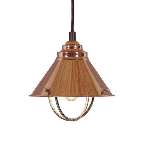 Harbor Lights: Harbour Light Mini Pendant Copper Fixture Ceiling Lamp
