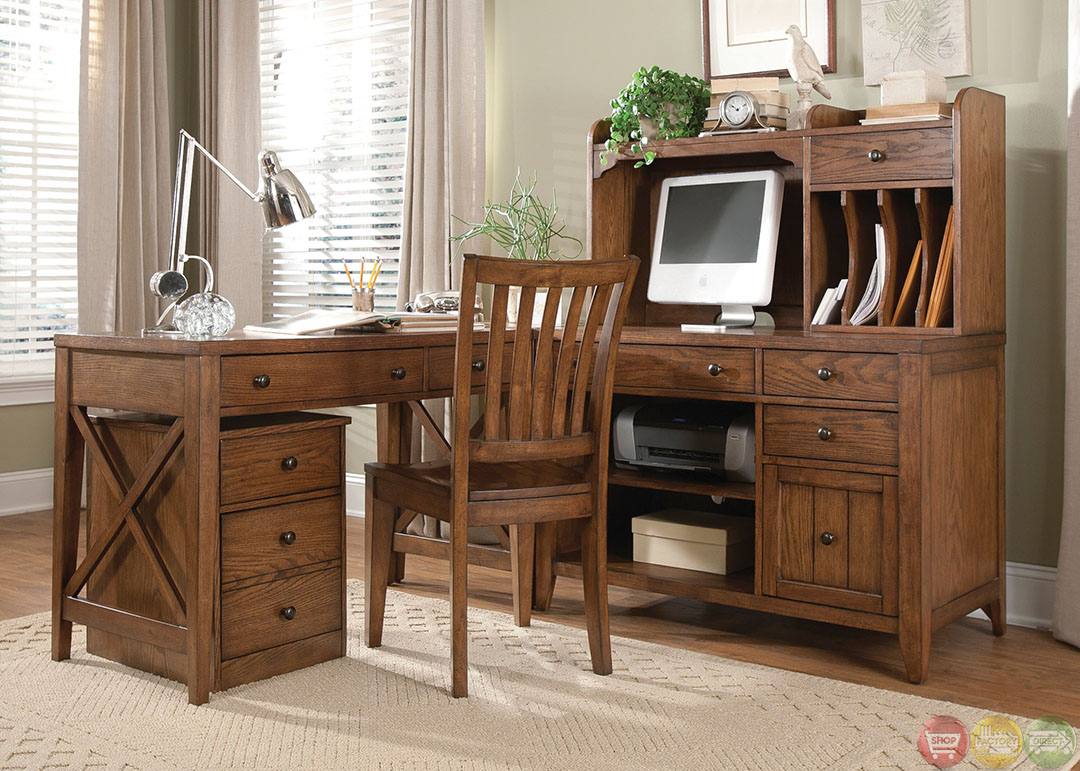 hearthstone rustic oak finish l shaped home office desk