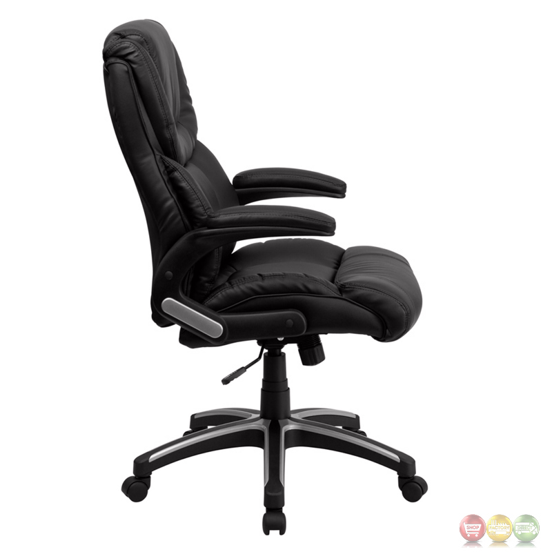 high back black leather executive office chair bt 9896h gg