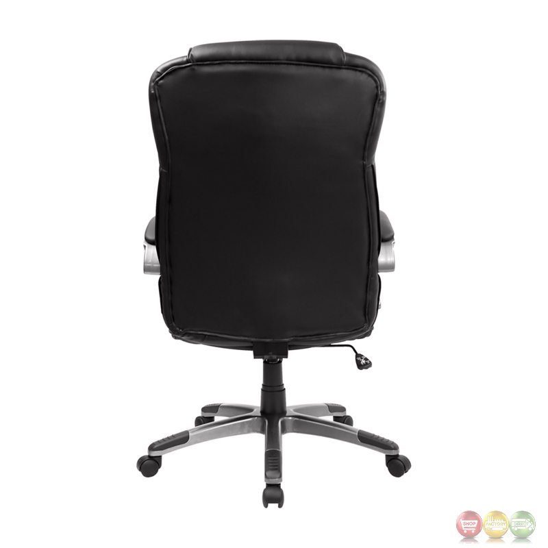 High Back Black Leather Executive Office Chair BT 9069 BK GG : high back black leather executive office chair 90 Back <strong>of Desk</strong> from shopfactorydirect.com size 800 x 800 jpeg 75kB