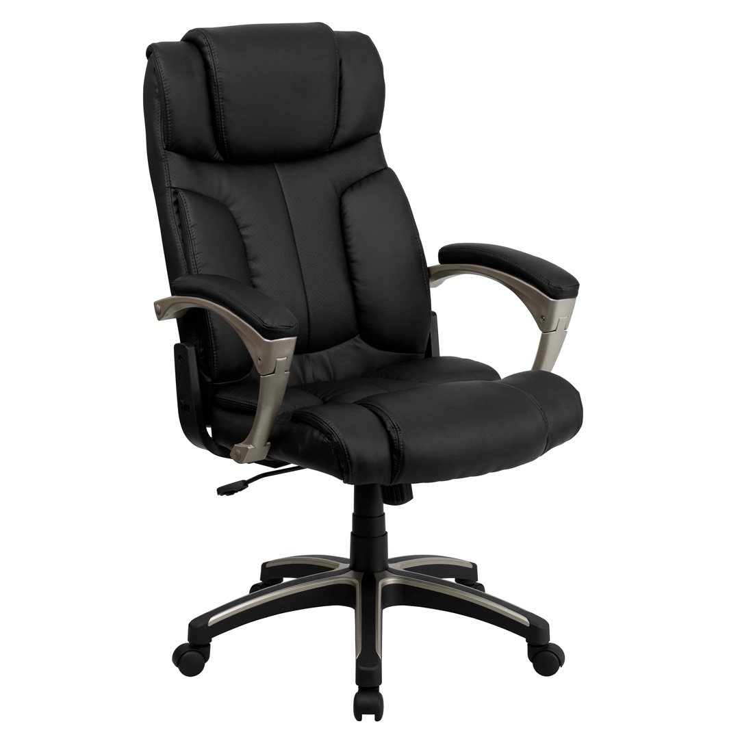high back folding black leather executive office chair bt 9875h gg