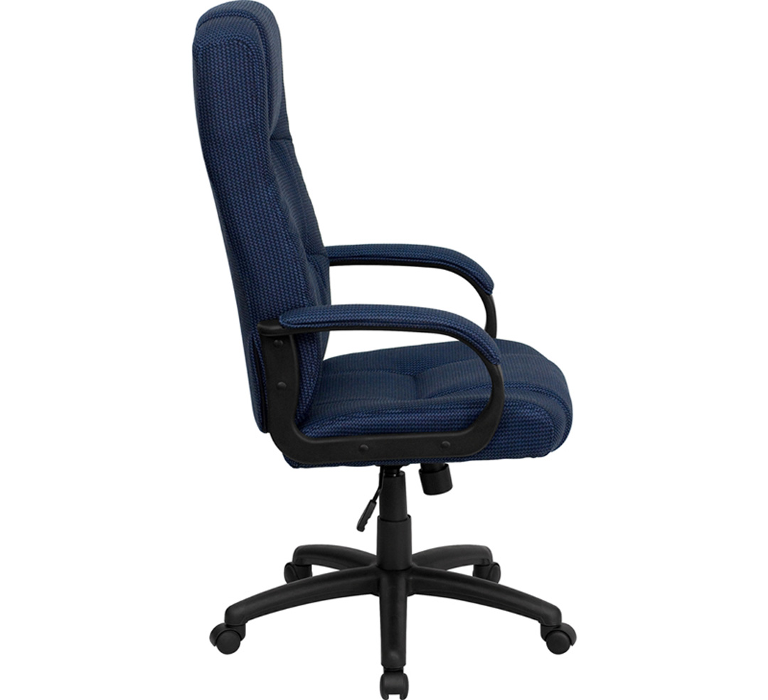 high back navy fabric executive office chair bt 9022 bl gg