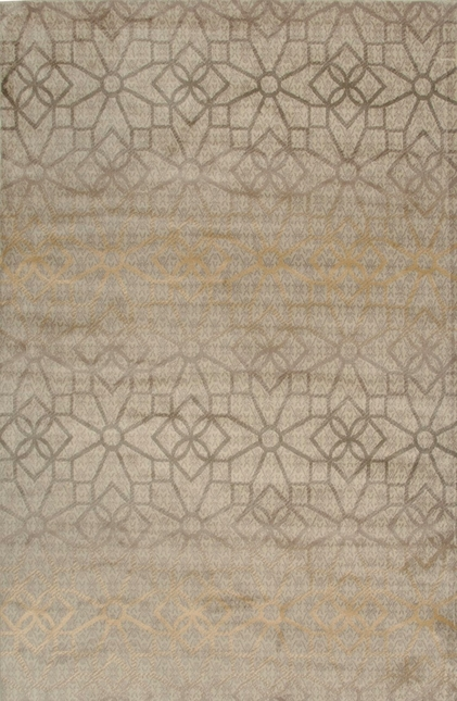 Rizzy Rugs Ivory Transitional Power Loomed Area Rug Bayside BS3589