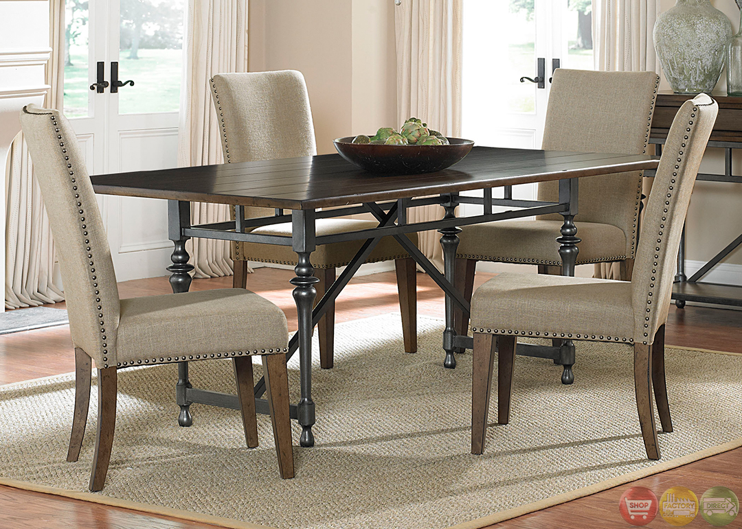 Ivy park modern farmhouse casual dining room set for Informal dining room sets