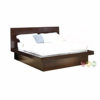 Jessica Contemporary Queen Platform Bed Mood Lighting Coaster 200711Q