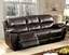 Kendra Casual Brown Power Dual Reclining Sofa & Loveseat In Top Grain Leather