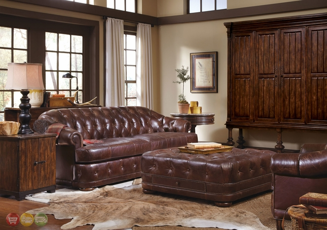 Leather Furniture Traveler Collection: Kennedy Luxury Leather Living Room Furniture Collection