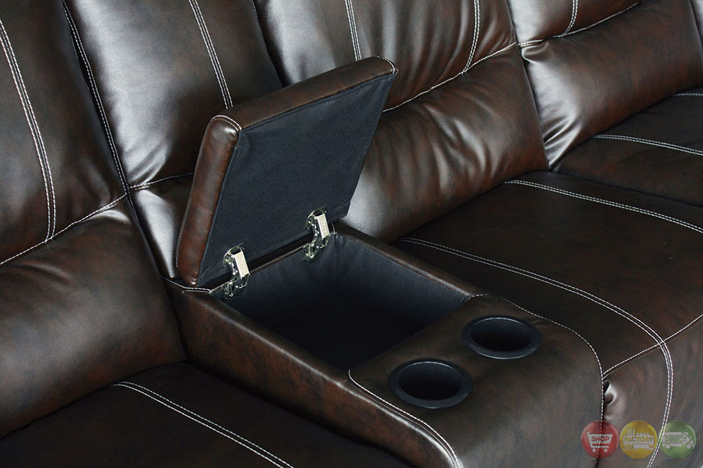 Image Result For Brown Leather Recliner Couch Set