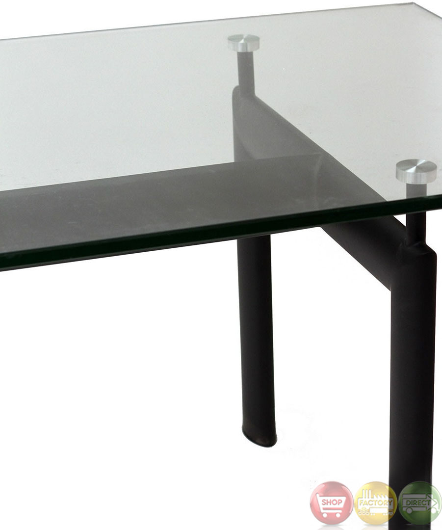 Le Corbusier Contemporary Modern LC6 Dining Table With
