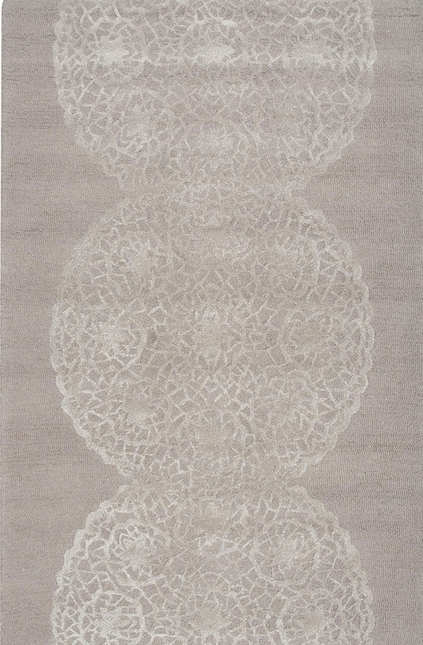 Rizzy Rugs Light Brown/Ivory Transitional Hand Tufted Area Rug Dimensions DI2455