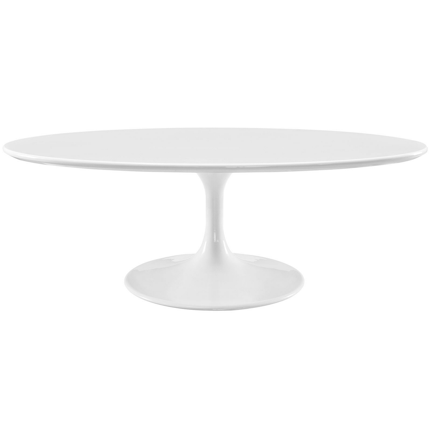 """Oval Wood And Metal Coffee Table: Lippa 48"""" Oval-shaped Wood Coffee Table W/metal Lacquered"""