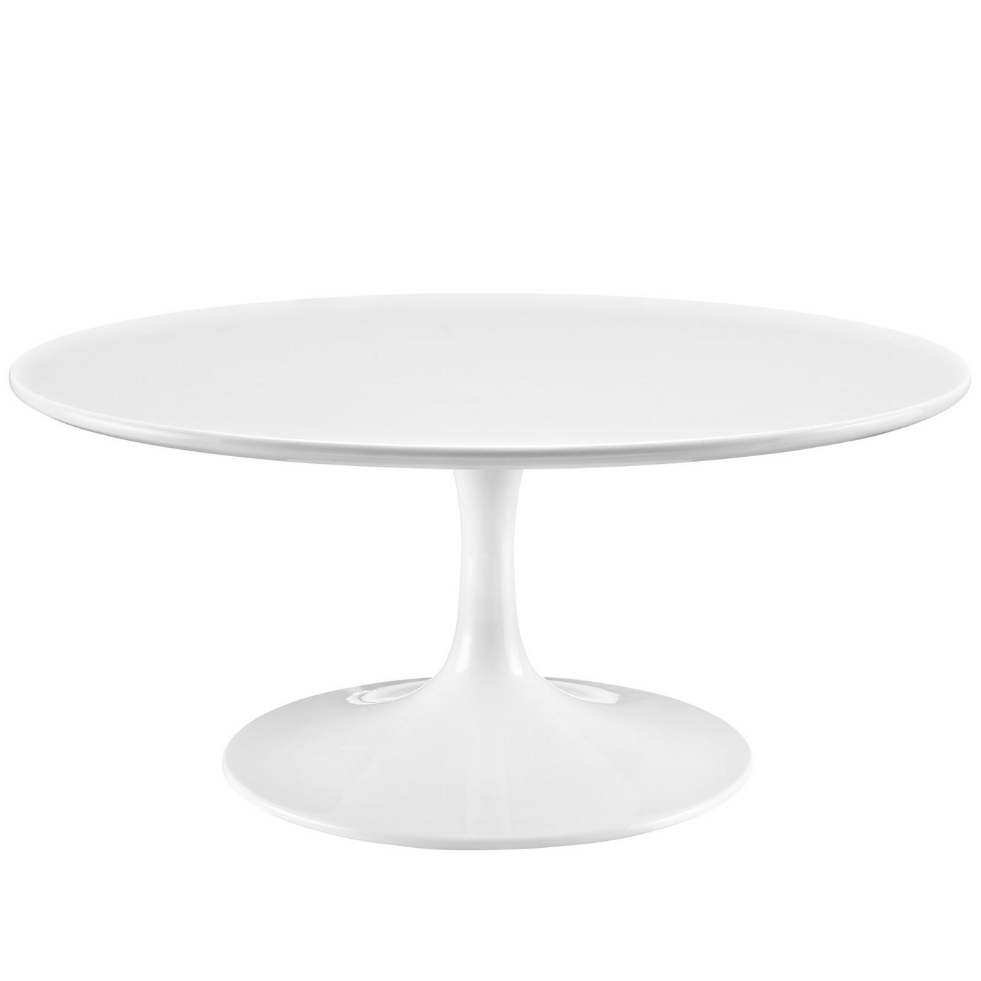 Lippa Modern 36 Quot Round Pedestal Coffee Table With
