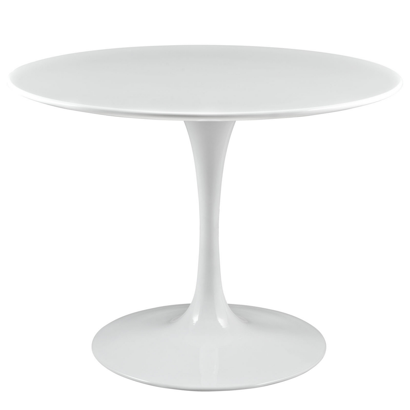 Lippa Modern 40 Quot Round Wood Top Dining Table W Lacquered