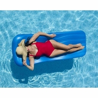 Luxurious Blue Pool Float 1.75in THK - NT104B