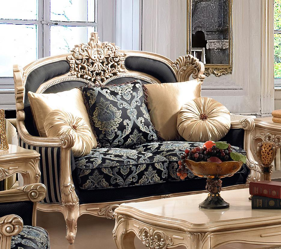 Luxurious Traditional Style Formal Living Room Furniture Set HD 03 KD