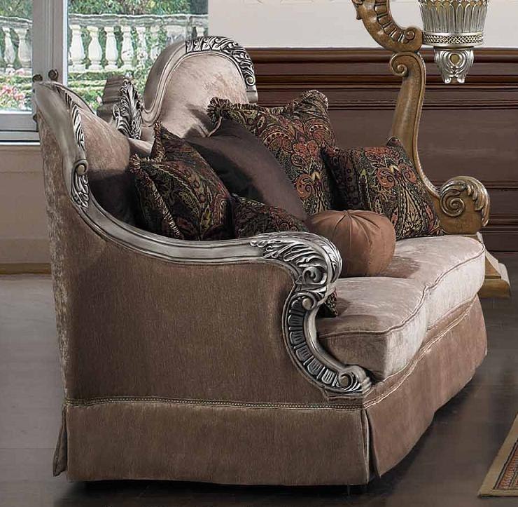 Traditinal Living Room Furniture: Luxurious Traditional Style Formal Living Room Set HD-1862L