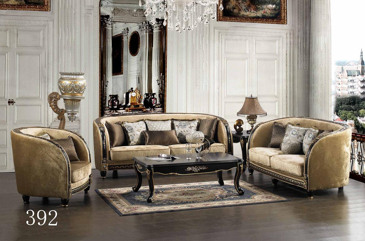 Luxurious Traditional Style Formal Living Room Furniture Set HD 392