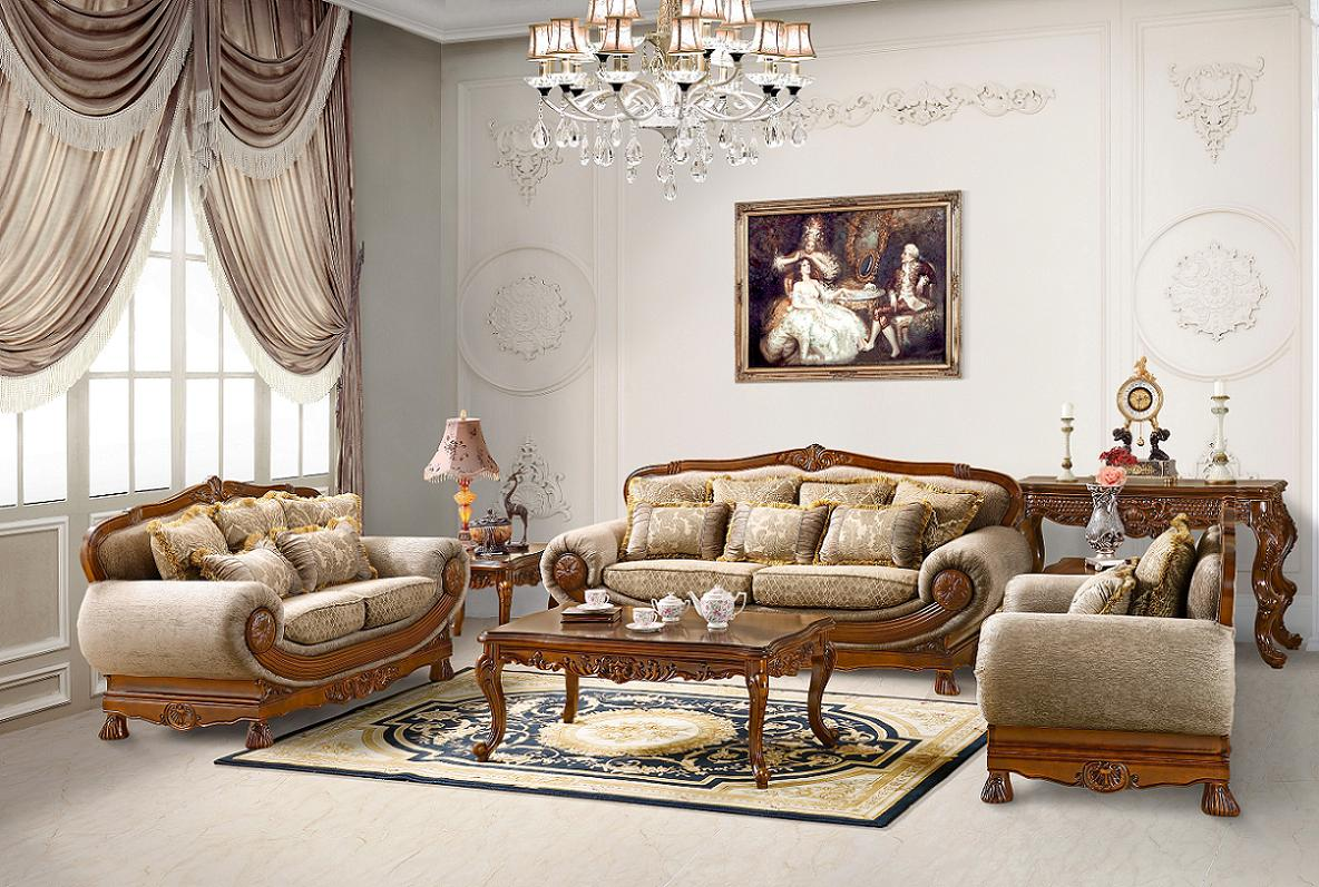 Living Rooms Luxurious Traditional Style Formal Living Room Furniture