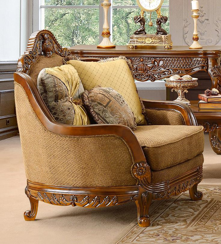 Traditional Sofas Living Room Furniture: Luxurious Traditional Style Formal Living Room Furniture