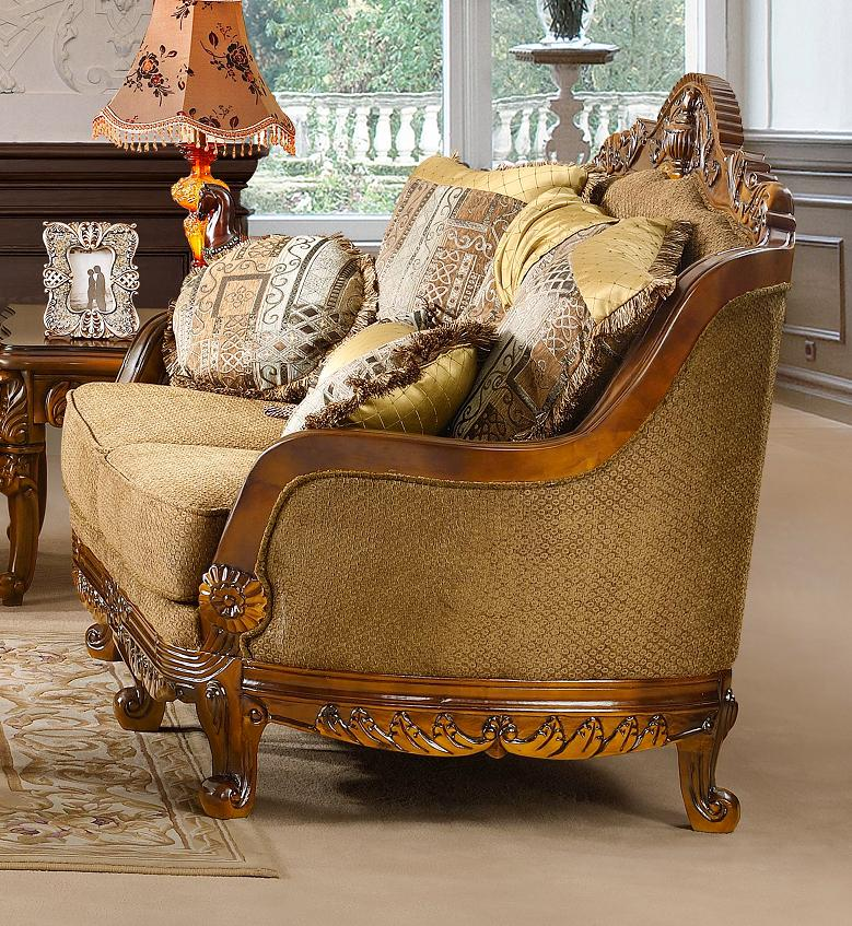 Traditinal Living Room Furniture: Luxurious Traditional Style Formal Living Room Furniture