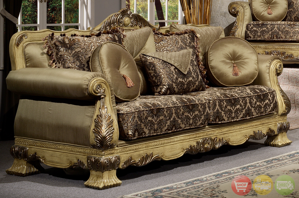 Luxury Antique Style Formal Living Room Furniture Set HD-913