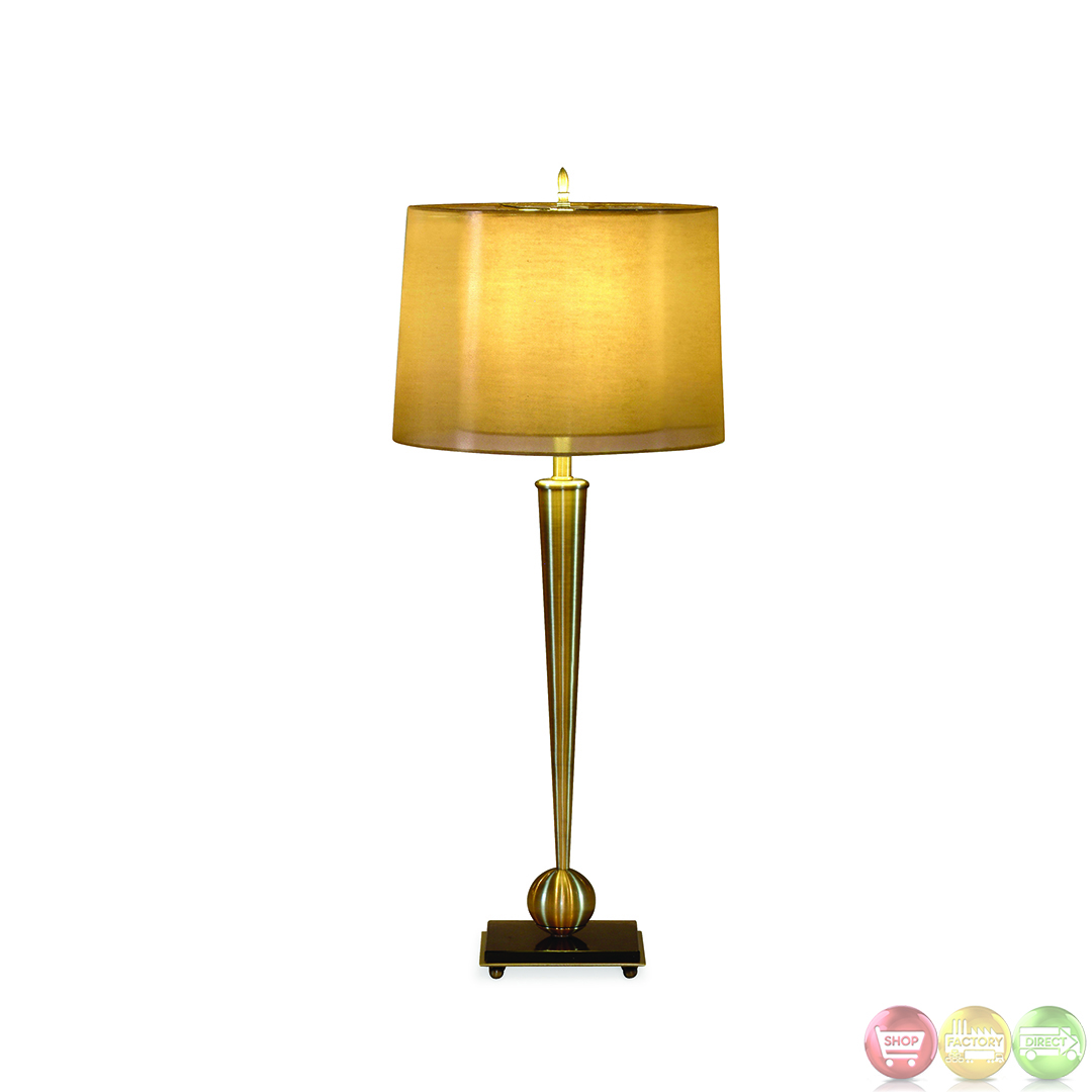 Mabon Metal Antique Brass Table Lamp L2291TEC