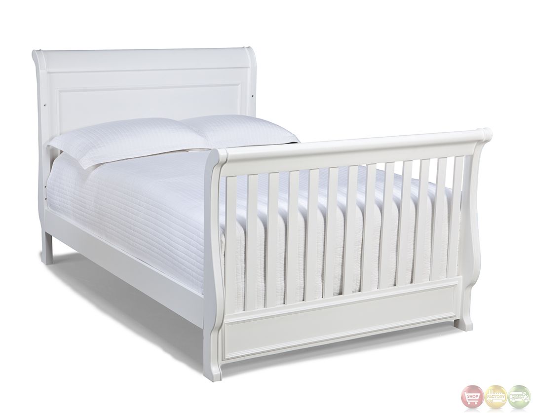 Madison Natural White Grow With Me Convertible Crib