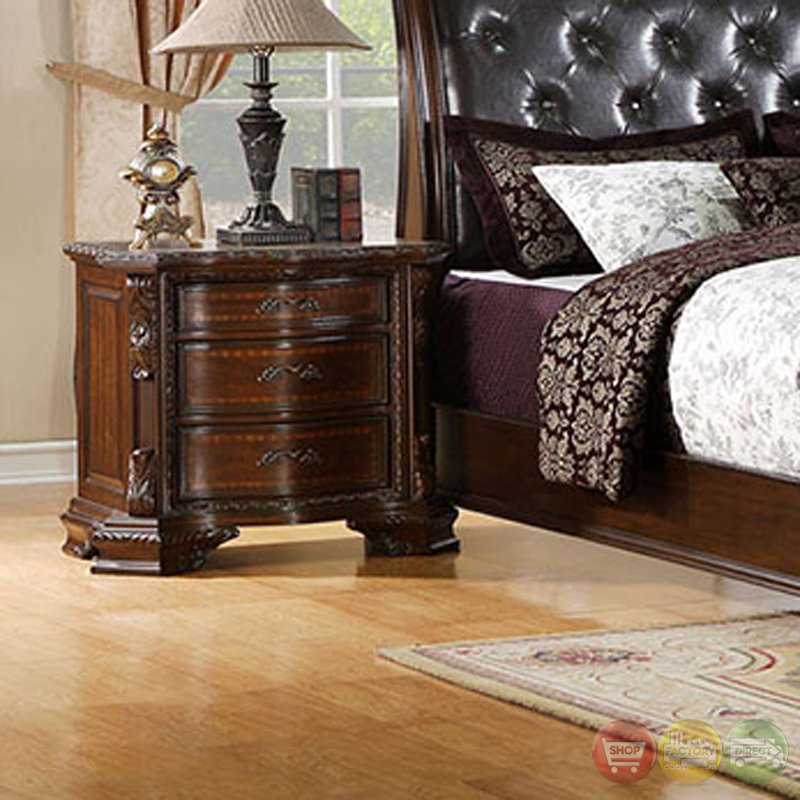South Yorkshire Luxurious Baroque Brown Cherry Sleigh