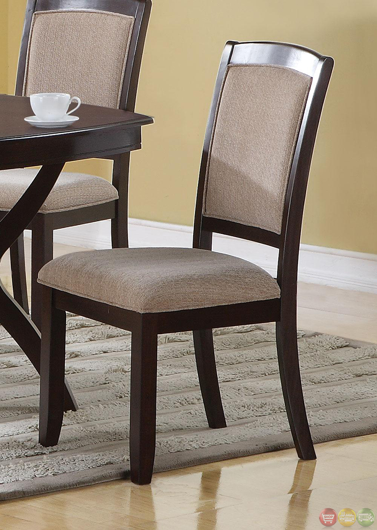 Memphis Cappuccino 5 Piece Casual Dining Room Set