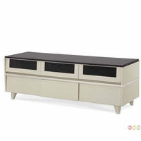 Michael Amini Beverly Blvd Contemporary Entertainment Console by AICO