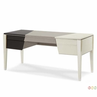 Michael Amini Beverly Blvd Contemporary Pearl Caviar Desk by AICO