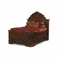 Michael Amini Excelsior Traditional East King Mansion Bed by AICO